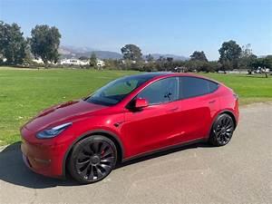 Model Y / 2020 / Red Multi Coat - af301   Only Used Tesla