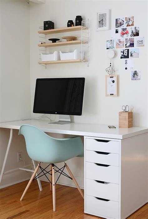 bureau ikea prix comment décorer un bureau laqué blanc 61 photos