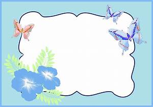 Butterfly Borders And Frames Clip Art (30+)