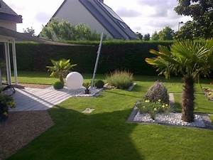 Jardin Paysager Exemple : am nagement paysager des id es et des conseils utiles ~ Melissatoandfro.com Idées de Décoration