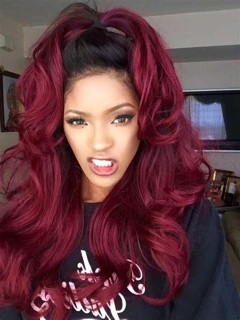 burgundy hair style burgundy hair color ideas best hairstyles