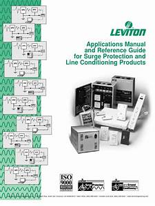 Leviton Applications Manual And Reference Guide For Surge