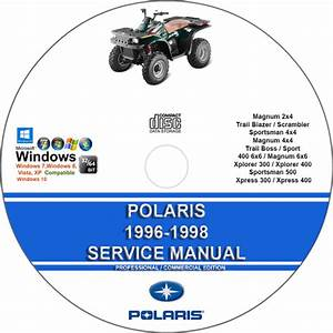 Polaris 1996 - 1998 Service Repair Manual