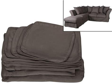 housses canape housse pour canapé d 39 angle modulable pouf tissu victoire