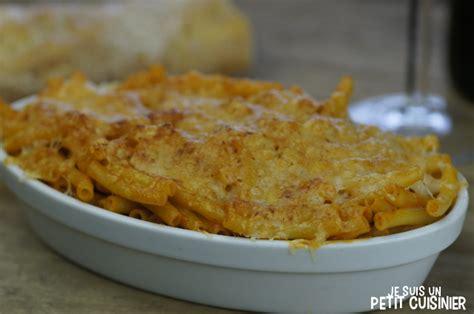 recette de gratin de macaroni