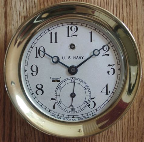 chelsea ships clock u s navy 2138