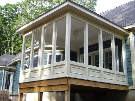 diy screened in porch do it yourself screened in porch ideas the garden