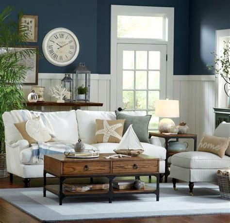 coastal living room coastal decor inspiration from birch shop the look