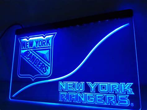 neon signs for home decor ld530 york rangers led neon light sign home decor
