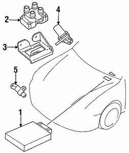 Mercury Tracer Engine Camshaft Position Sensor