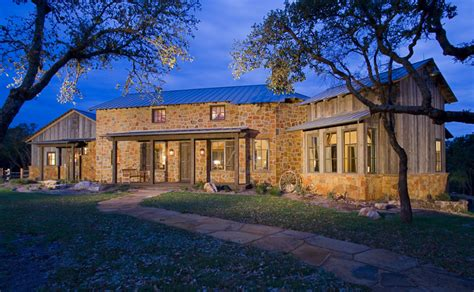 Hill Country Ranch Style House Plans