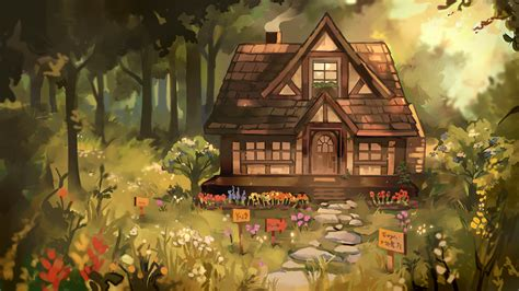 A Cottage Story by LadyMeowsith
