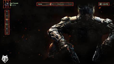 Bo3 Black Ops 3 Xbox One Custom Xbox One Background Youtube
