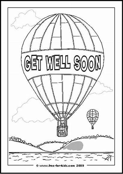 Well Soon Coloring Pages Printable Cards Better