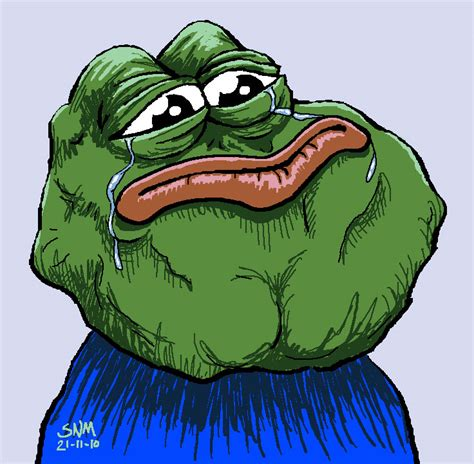 Sad Frog Meme - image 200003 feels bad man sad frog know your meme