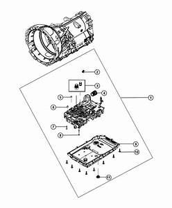 2012 Chrysler 300 O Ring Kit  Valve Body  Transmission