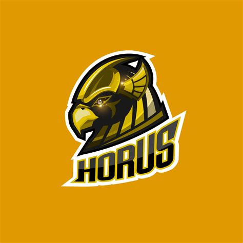 Horus Esport Logo 640602 Vector Art At Vecteezy