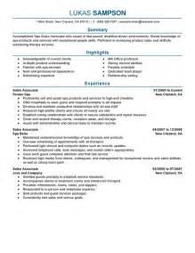 ending of resume sle high end retail resume best resume gallery