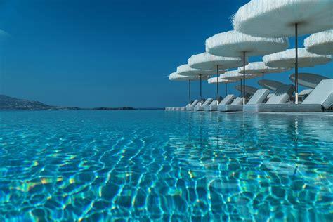 Mykonos Riviera Hotel And Spa Tourlos Mykonos Greece By