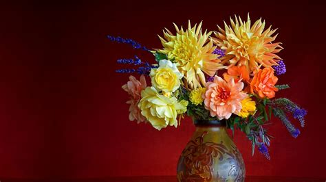 Pictures Of Flowers In A Vase