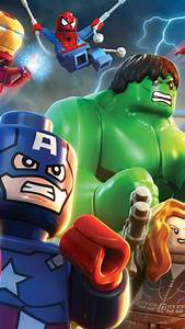 Lego Avengers Wallpaper for iPhone X, 8, 7, 6 - Free ...