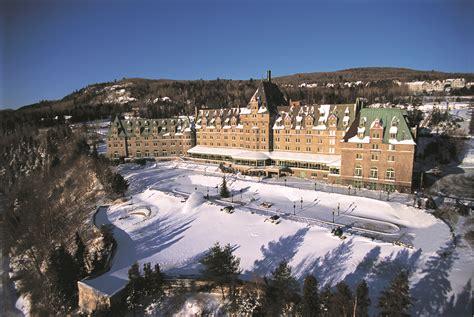Fairmont Le Manoir Richelieu, a holiday winter wonderland ...