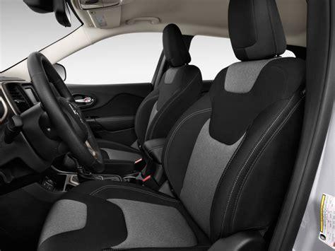 jeep cherokee sport interior 2016 image 2016 jeep cherokee fwd 4 door sport front seats