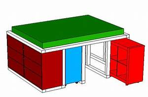 Bett Aus Ikea Regalen : ikea hack aus dem kallax regal und der malm kommode wird ein bett mit unterbauschrank kallax ~ Markanthonyermac.com Haus und Dekorationen