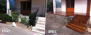 terrasse bois a moindre cout With cout terrasse en bois