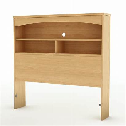 Headboard Bookcase Twin Shore South Natural Bed