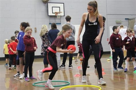 sports leaders shine  primary workshops ashby school