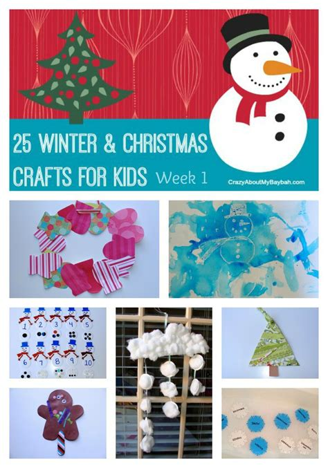 25 Winter And Christmas Crafts For Kids  Week 1