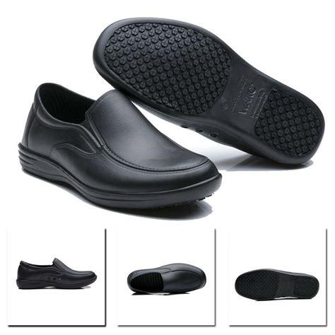 mens work shoes restaurant kitchen water oil resistant