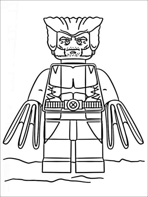Lego Kleurplaat Printen by Lego Marvel Heroes Kleurplaten Printen 8