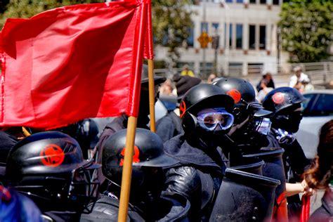 antifa america violent trump organization radical terrorist democrat states molotov united members portland blm american killed shutterstock terrorists cocktails aim