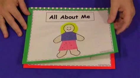 all about me book for preschool and kindergarten 563 | maxresdefault
