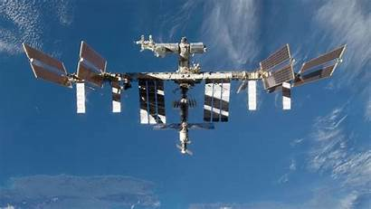 Space Station International Background Wallpapers Wall