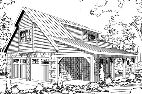 garage plans with living space on floor craftsman house plans garage w apartment 20 067