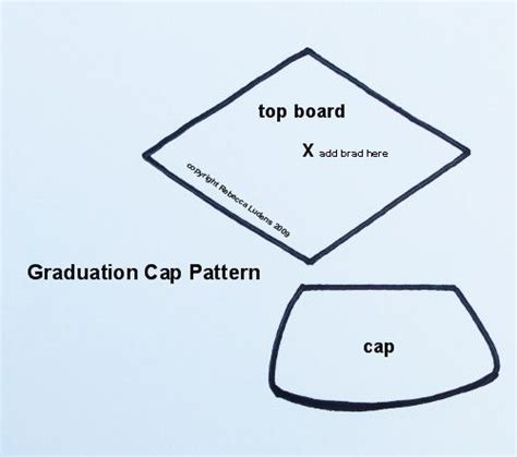 top of graduation cap template 30 amazing graduation gifts that you can make paper