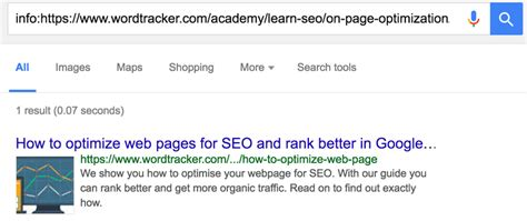 Web Page Optimization by How To Seo A Web Page To Rank Higher Wordtracker