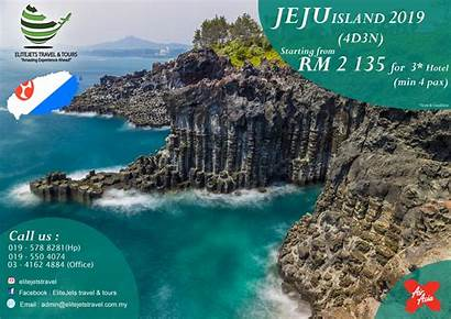 Jeju Island Days Nights Poster Travel