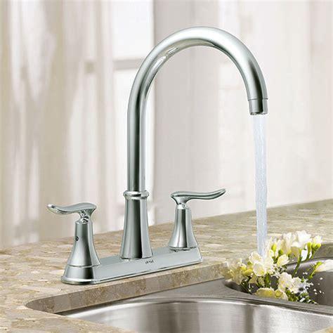 robinet de cuisine moen moen robinet de cuisine 2 poignées quinn réno dépôt