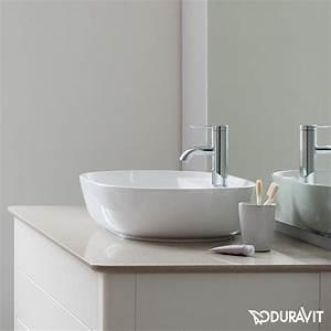 Duravit Luv Aufsatzwaschtisch Wei U00df