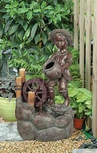 Maulwurfbekämpfung Im Garten : m dchen mit wasserrad brunnen 209 99 ~ Michelbontemps.com Haus und Dekorationen
