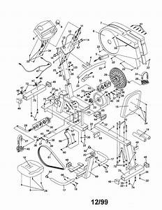 Proform 831288283 Exercise Cycle Parts