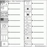 Flags Coloring Pages Flag Around Label Enchantedlearning Colouring Miracle Timeless Countries Colour Christmas Tallennettu Taeaeltae Guardado Desde Geography Worldflags sketch template