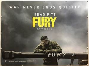 Fury | 2014 | Advance | Brad Pitt Style | UK Quad » The ...