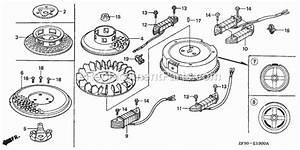 Honda Gxv390 Parts List And Diagram