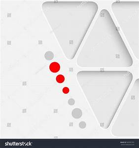 Abstract Triangle Graphic Design White Modern Stock Vector ...