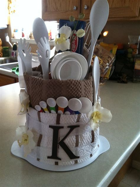 gift ideas for the kitchen bridal shower gift for the